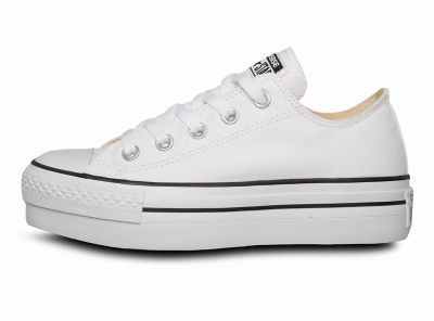 3e4e4ca6 zapatillas blancas con plataforma chile,Zapatilla con Plataforma Chuck  Taylor All Star Platform Blanca Converse