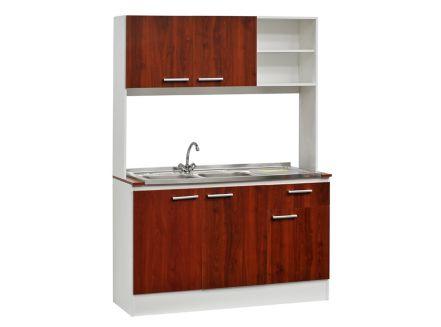 Kit Mueble de Cocina + Lavaplatos Doble Lonquimay Mobikit - paris.cl
