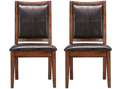 par de sillas onyx tapiz eco cuero attimo