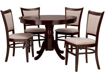 Design comedor imagenes las mejores ideas e for Juego de comedor redondo en madera