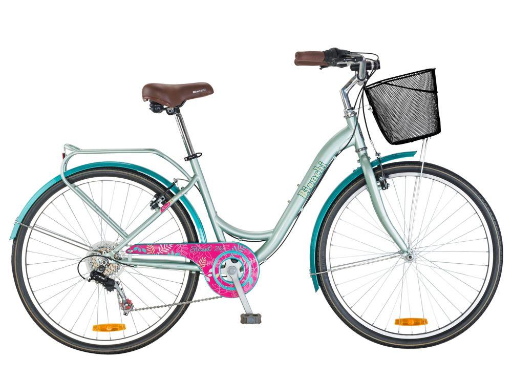 Bicicleta Paseo Mujer Bianchi Street Ld Aro 26 Verde