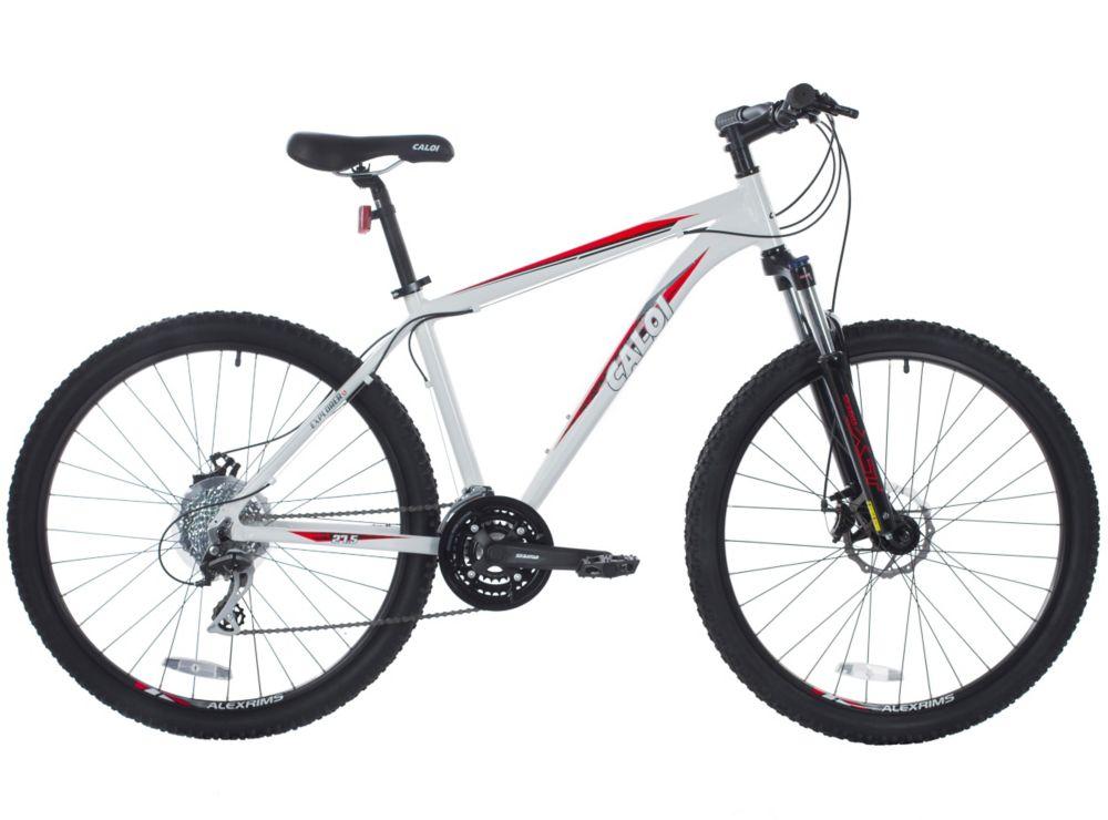 Bicicleta Caloi Mtb Explorer 1.7 Blanco Aro 27.5