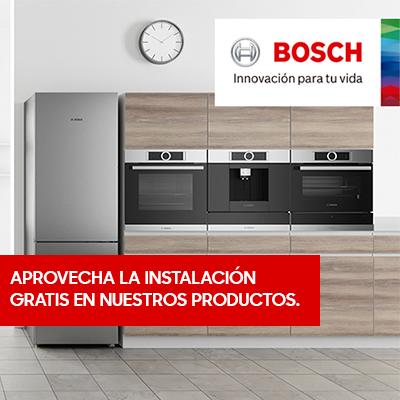 Instalación Gratis Bosch