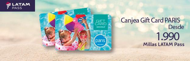 Canjea Gift Card Paris