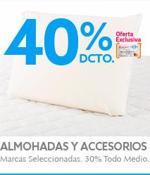 Almohadas y Accesorios Dormitorio