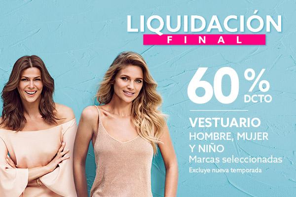 Liquidacion Vestuario