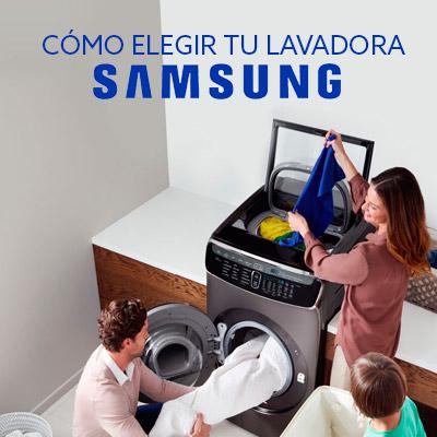 Cómo elegir tu lavadora