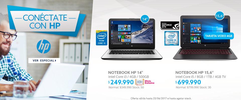 Conectate con HP