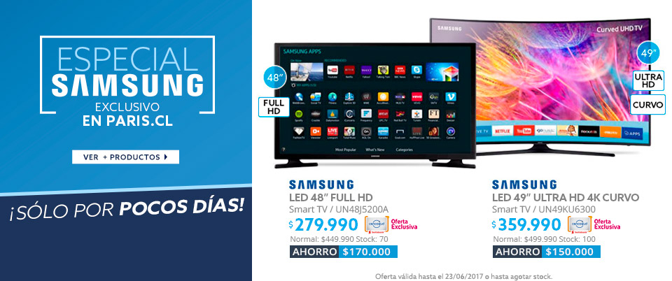 Semana Samsung, TV