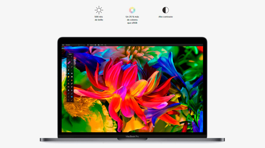 MacBook Pro Touch Bar Intel Core i7 16GB RAM/256GB SSD 15,4\