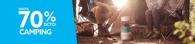 Hasta 70% Camping