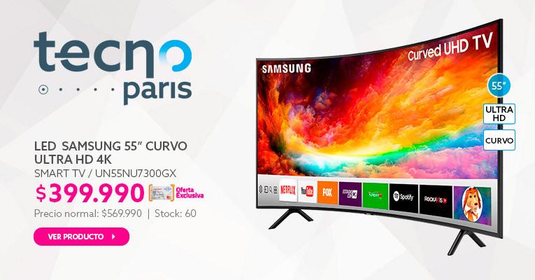 LED 55 Samsung UN55NU7300GX Smart TV Ultra HD 4K