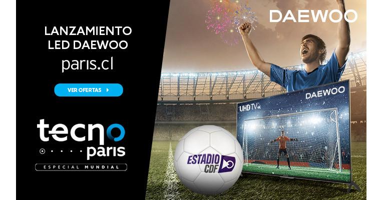 Lanzamiento TV de Daewoo