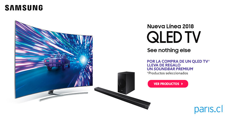 Nueva Linea 2018 QLED TV Samsung